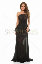 rochie de seara lunga negra