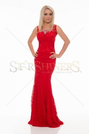 rochie de seara lunga rosie
