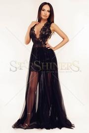 rochii de seara lungi negre 2017