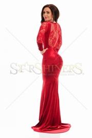 rochii de seara lungi rosii 2017