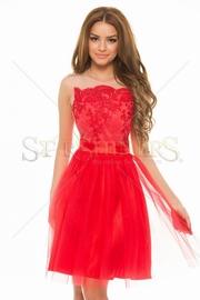 rochii rosii de seara online