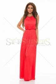 rochii rosii de seara lungi