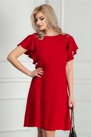 rochii de nunta rosii ieftine