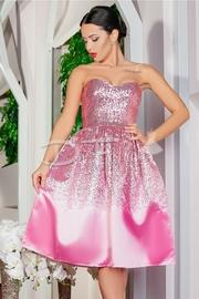 rochii de nunta roz ieftine