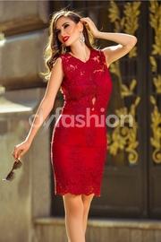 rochii din dantela rosii de nunta