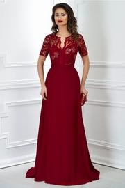 rochii lungi cu dantela de nunta