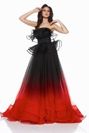rochie de ocazie lunga din tul