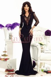 rochie de ocazie lunga neagra