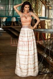 rochie lunga de vara de seara ieftina