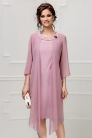 rochie scurta lila de ocazie cu pelerina voal