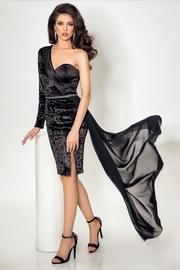 rochii de seara elegante cu trena