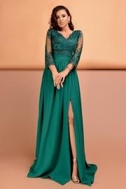 rochii de seara elegante verzi